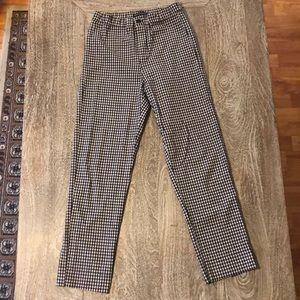 Brandy Melville checkerboard pants.